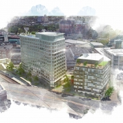 Fenway Center phase-one rendering