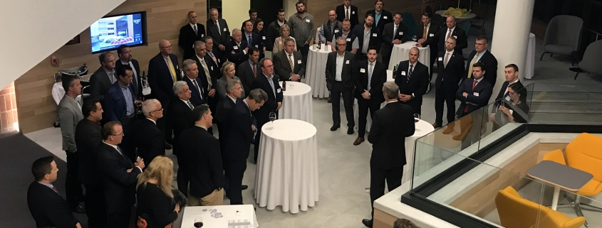 Governor Baker at Greater Boston Plumbing Contractors Association event