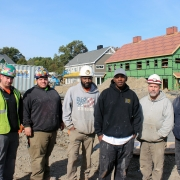 Hilliard Baker and HB Plumbing and Heating crew