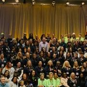UA members at Tradeswomen Build Nations 2019