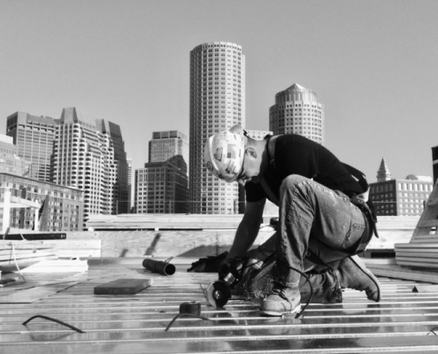 Faherty Company Plumbing roof drains Seaport Boston Local 12
